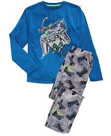 Max & Olivia Big Boys 2-Pc. Outta Control Pajama Set
