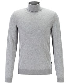 BOSS Men's Musso-P Turtleneck Wool Sweater