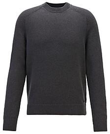 BOSS Men's Kamiscos Crew-Neck Sweater