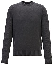 BOSS Men's Kamiscos Crew-Neck Sweater