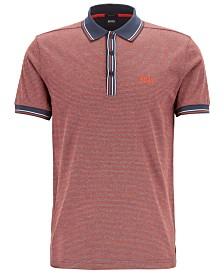 BOSS Men's Paddy 2 Regular-Fit Cotton Polo Shirt