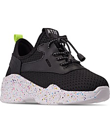 Little Girls JMYLESS Athletic Casual Sneakers from Finish Line