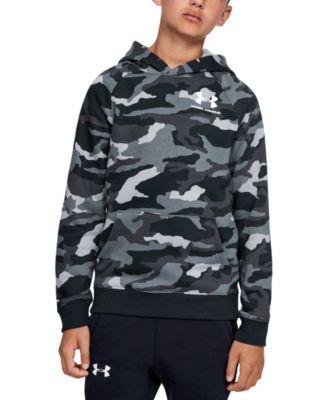 Under Armour Boys/' Armour Fleece Big Logo Printed Hoody 3 Colors