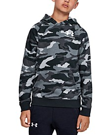 Big Boys Camo-Print Fleece Hoodie