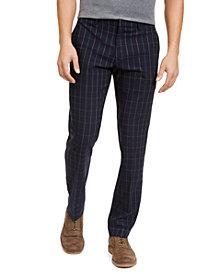 Tommy Hilfiger Men's Modern-Fit THFlex Stretch Windowpane Dress Pants