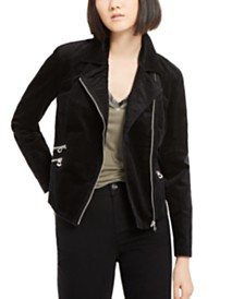I.N.C. Corduroy Moto Jacket, Created for Macy's