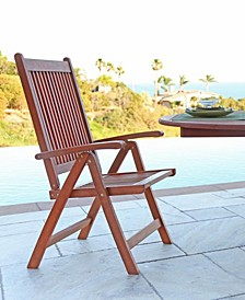Malibu Outdoor 5-Position Reclining Chair