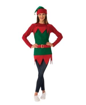 Elf Apron Adult Costume