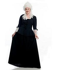BuySeasons Women's Colonial Plus Adult Costume