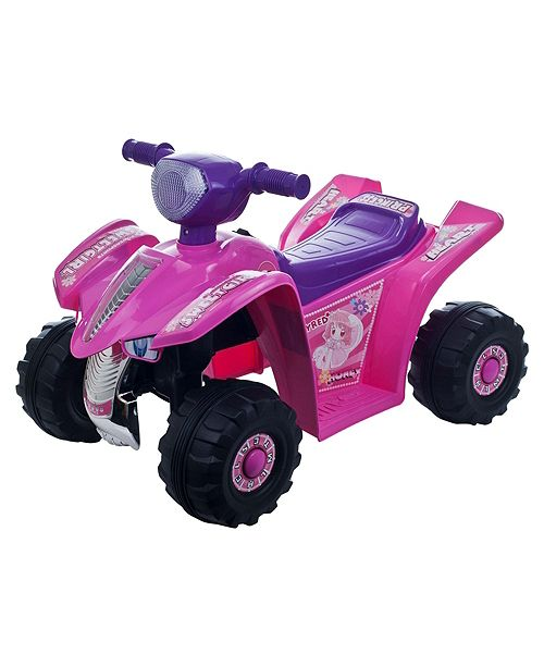 Lil' Rider Battery Powered Ride On Toy ATV Four Wheeler