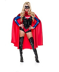 Red Cape Adult Costume