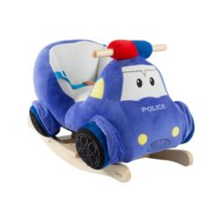 Happy Trails Rocking Police Car Toy