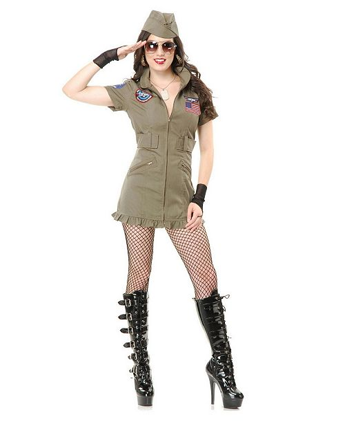 BuySeasons Women's Tom Cat Seal Team Adult Costume