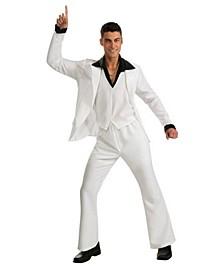 Men's Saturday Night Fever White Suit Adult Costume