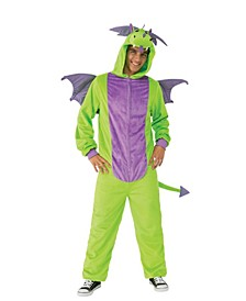 Green Dragon Comfy Wear Adult Costume