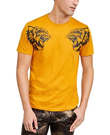 INC Men's Dual Tiger T-Shirt, Created For Macy's