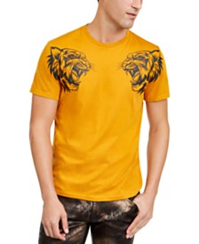 I.N.C. Men's Dual Tiger T-Shirt, Created For Macy's