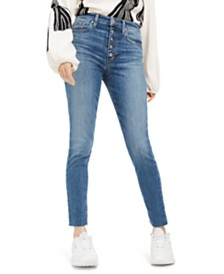Joe's Jeans Skinny Button-Fly Jeans