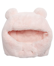 First Impressions Baby Girls & Boys Faux-Fur Pom Pom Hat, Created For Macy's