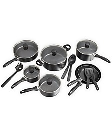 CLOSEOUT! 17-Pc. Non-Stick Cookware Set, Created for Macy's