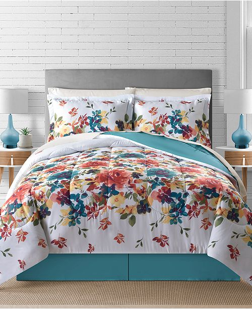 Fairfield Square Collection Sophia Reversible 8-Pc. Comforter Sets