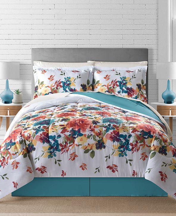 Fairfield Square Collection Sophia Reversible 8-Pc. Comforter Sets