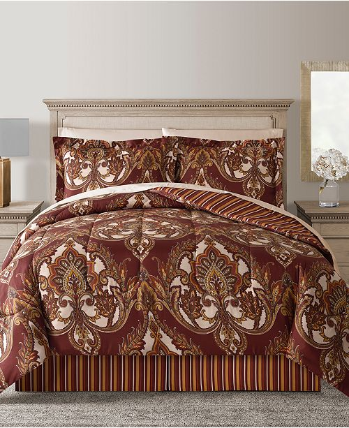 Fairfield Square Collection Odyssey Reversible 8-Pc. Comforter Sets