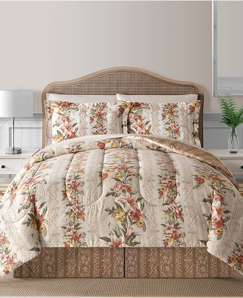Fairfield Square Collection Hermia Reversible 8-Pc. Comforter Sets