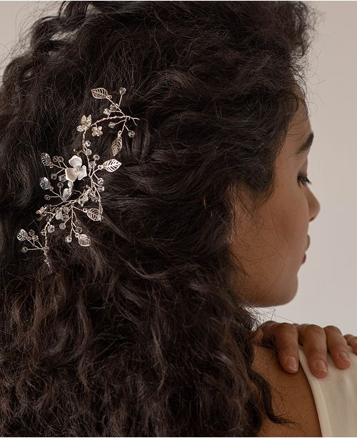 Soho Style Crystal Floral and Vine Headpiece