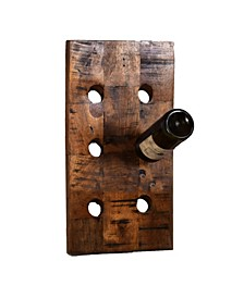 Wine O 6 Standard Wine Bottle Rack in Vertical Orientation Finished in Rich Look