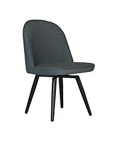 Studio Designs Home Dome Armless Swivel Chair
