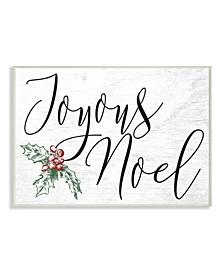 Joyous Noel Christmas Wall Art Collection