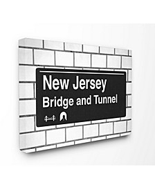 New Jersey Bridge and Tunnel Sign Art Collection