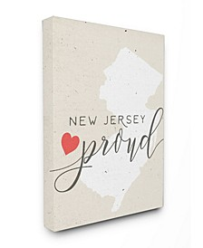 New Jersey Proud with Heart Art Collection
