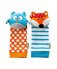 Bbluv Duo Owl Fox Foot Finders
