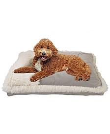 Plush Velvet Fur Pillow Pet Bed