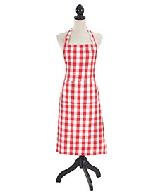 Gingham Design Kitchen Apron