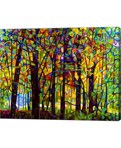 """Metaverse Standing Room Only by Mandy Budan Canvas Art, 30"""" x 24"""""""