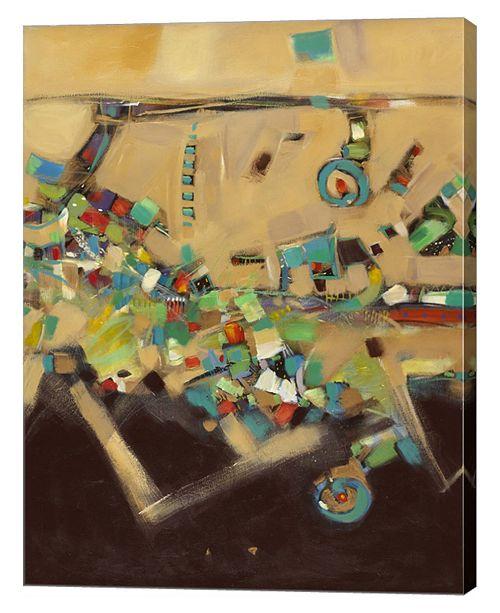 "Metaverse Restoration I by Pamela A. Johnson Canvas Art, 27.5"" x 36"""