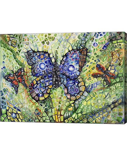 "Metaverse Butterfly Friends by Charlsie Kelly Canvas Art, 27"" x 20"""