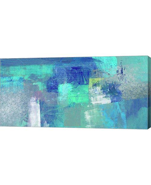 "Metaverse Azure by Heather Taylor Canvas Art, 32"" x 16"""