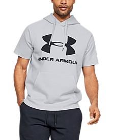 Men's Rival Fleece Logo Short Sleeve Hoodie