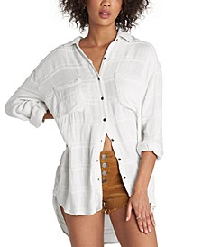 Easy Movin Button-Front Shirt