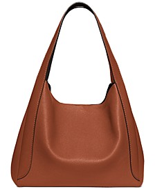 Polished Pebble Leather Hadley Hobo