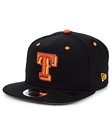 New Era Texas Rangers Orange Pop 9FIFTY Cap