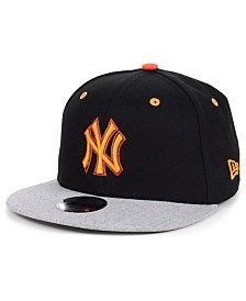 New Era Boys' New York Yankees Lil Orange Pop 9FIFTY Cap