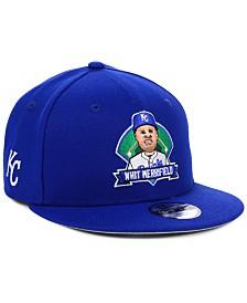 New Era Big Boys Whit Merrifield Kansas City Royals Lil Player 9FIFTY Snapback Cap
