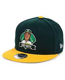 Big Boys Khris Davis Oakland Athletics Lil Player 9FIFTY Snapback Cap