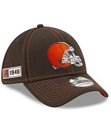 New Era Cleveland Browns On-Field Sideline Road 39THIRTY Cap