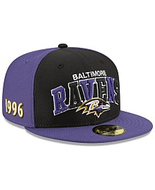 New Era Baltimore Ravens On-Field Sideline Home 59FIFTY-FITTED Cap